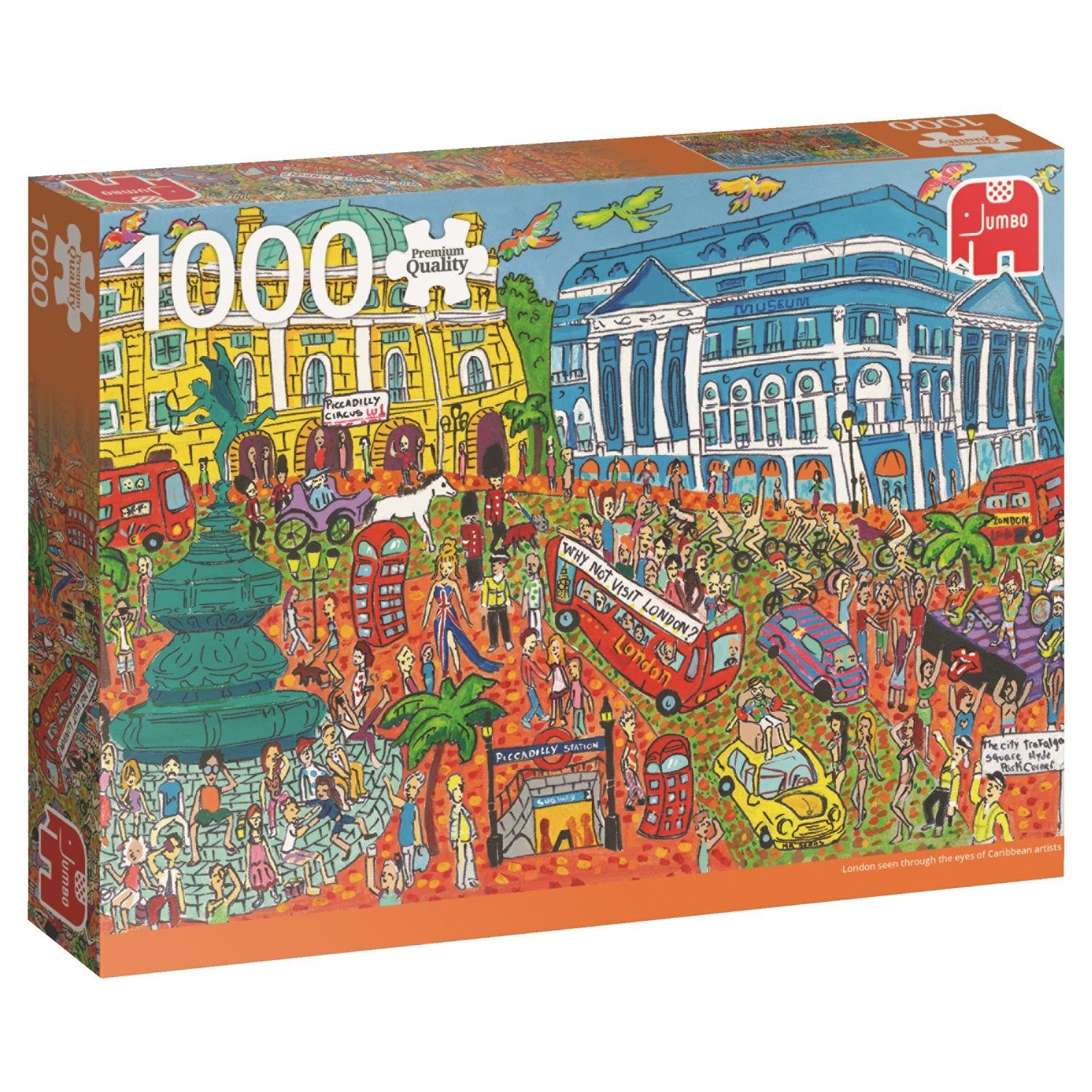 piccadilly circus london 1000 teile jumbo puzzle online kaufen. Black Bedroom Furniture Sets. Home Design Ideas