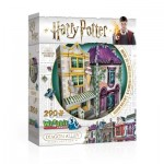 3D Puzzle - Harry Potter - Madam Malkin's & Florean Fortescue's Ice Cream