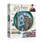 3D Puzzle - Harry Potter - Ollivander's Wand Shop & Scribbulus