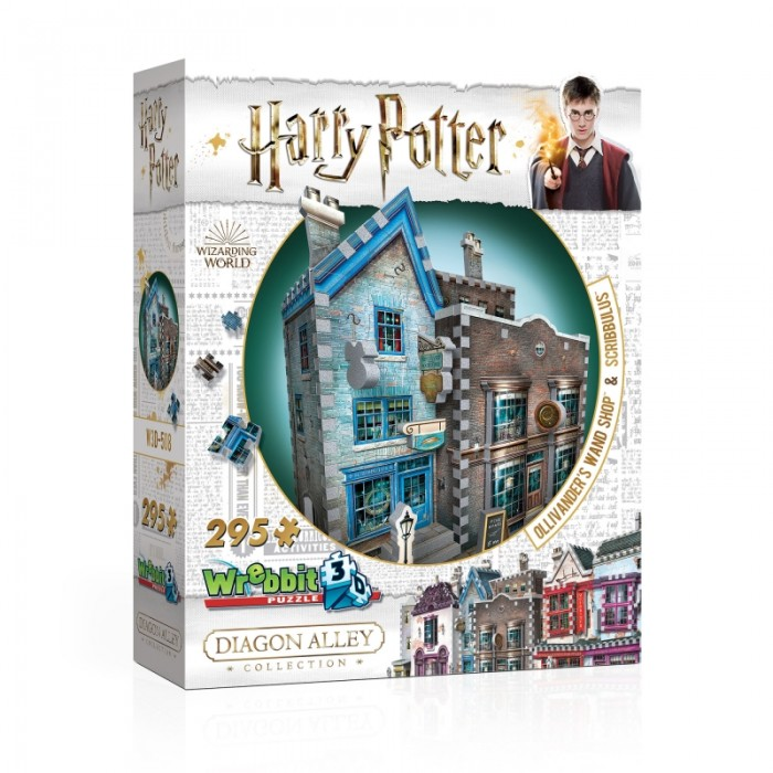 3D Puzzle - Harry Potter (TM) - Ollivander's Wand Shop & Scribbulus