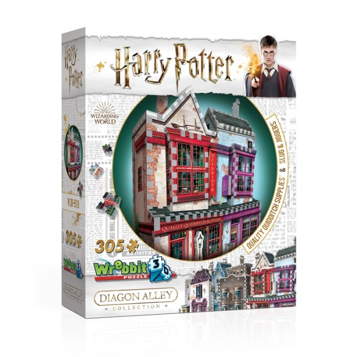3D Puzzle - Harry Potter (TM) - Quality Quidditch Supplies and Slug & Jiggers