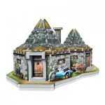 Wrebbit-3D-0512 3D Puzzle - Harry Potter (TM): Hagrid's Hut