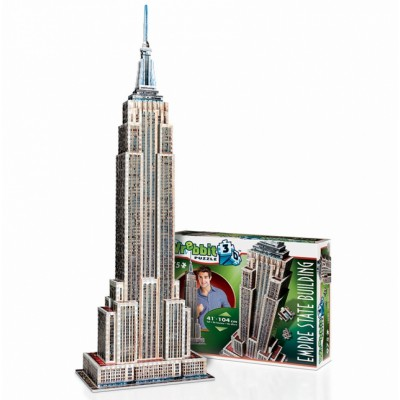 Wrebbit-3D-2007 3D Puzzle - New-York: Empire State Building
