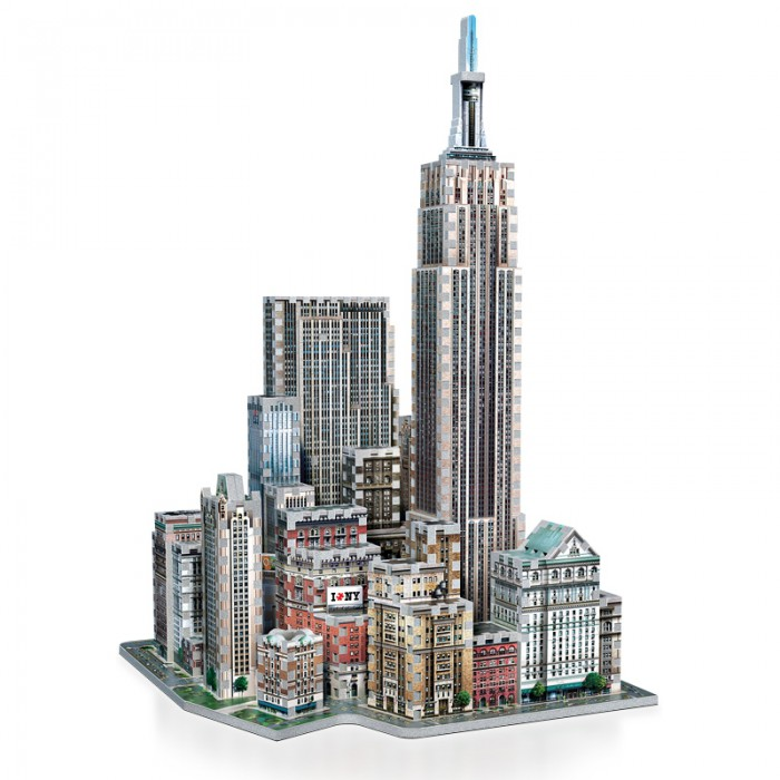 3D Puzzle - New York Collection: Midtown West