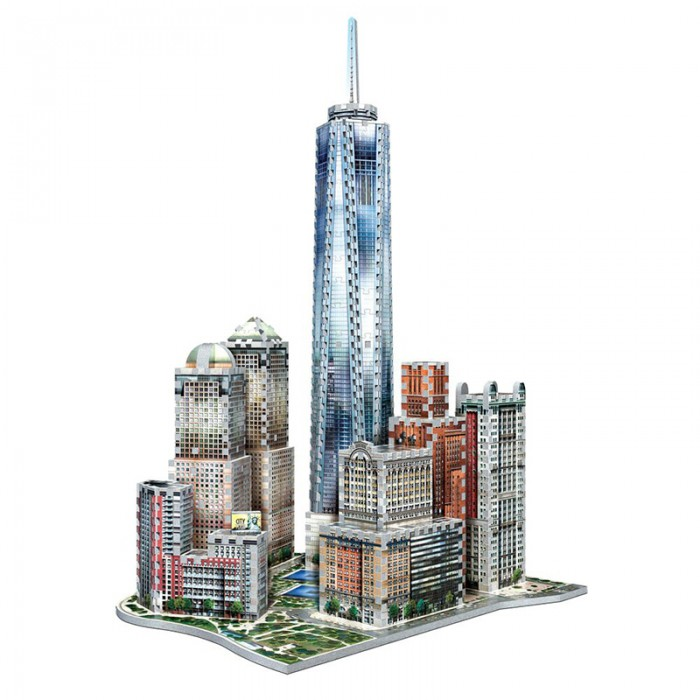 3D Puzzle 3D - New York Collection: World Trade