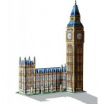 Wrebbit-3D-34504 3D Puzzle - London: Big Ben und Parlament