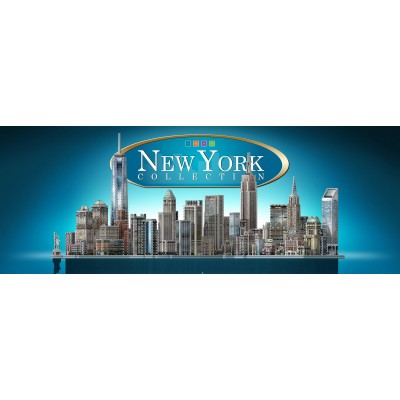 Wrebbit-Set-New-York 3D Puzzle - Full New York Collection