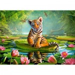 Puzzle  Castorland-030156 Tiger Lily
