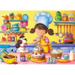 Puzzle  Castorland-06885 Little Cook