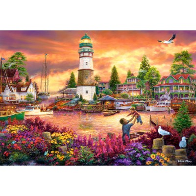 Puzzle Castorland-103645 Love Lifted Me