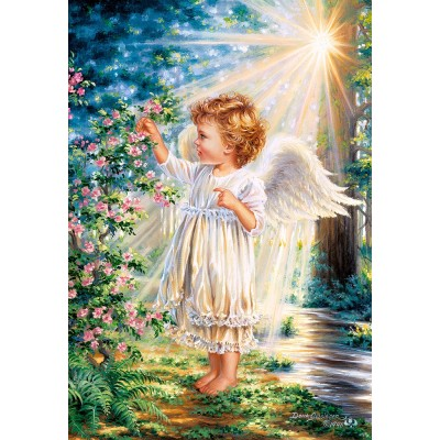 Puzzle Castorland-103867 An Angel's Touch
