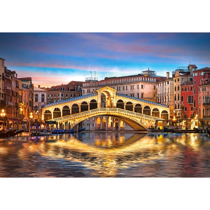 Rialto by Night, Venedig