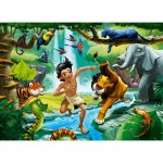 Puzzle  Castorland-111022 Jungle Book