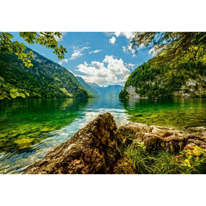 Lake Koenigsee in Germany