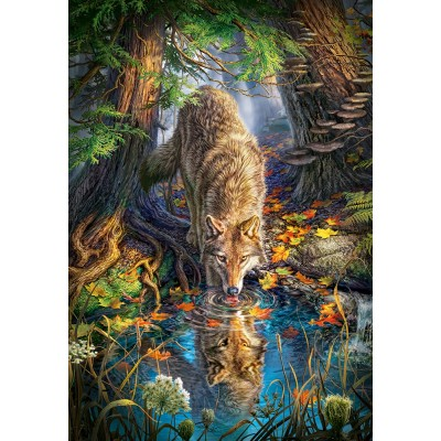 Puzzle Castorland-151707 Wolf in the Wild