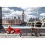 Puzzle  Castorland-53315 Little Journey to London