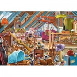 Puzzle  Castorland-53407 The Cluttered Attic