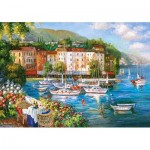 Puzzle  Castorland-53414 Harbour of Love