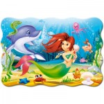 Puzzle  Castorland-C-02290 XXL Teile - Little Mermaid