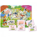 Puzzle  Castorland-E-111 Mutter mit Baby