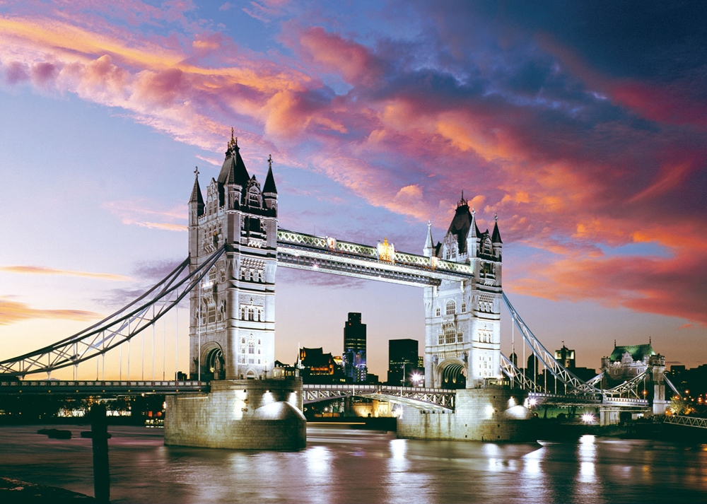 london tower bridge 1000 teile puzzle von castorland puzzle online kaufen. Black Bedroom Furniture Sets. Home Design Ideas