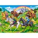 Puzzle   Princess Horse Ride