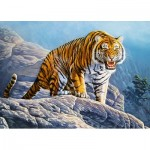 Puzzle   Tiger on the Rock