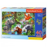 Puzzle   XXL Teile - Jungle Animals