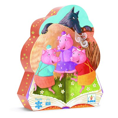 Puzzle Djeco-07212 The Three Little Pigs