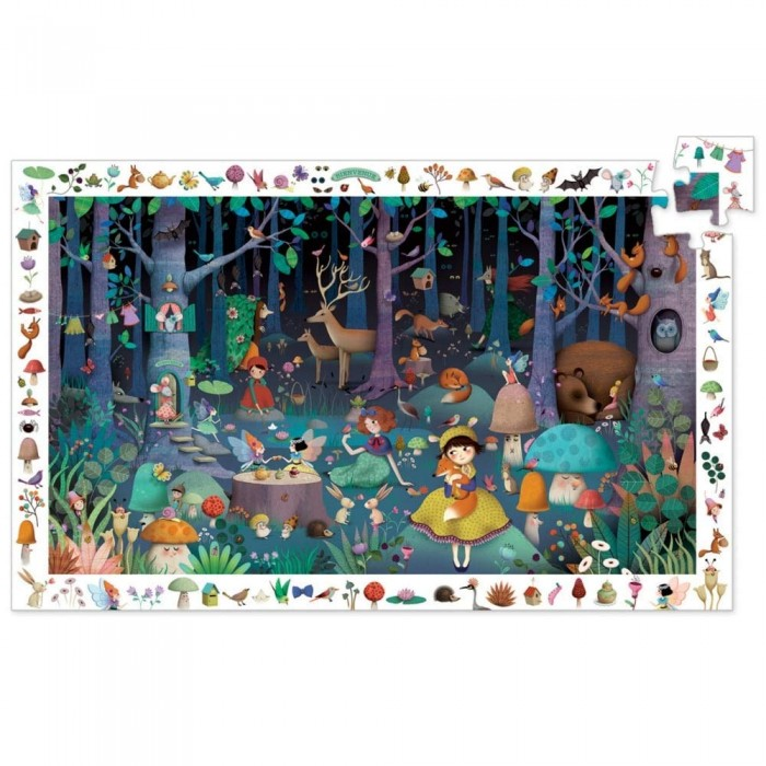 Entdecker Puzzle - Enchanted Forest
