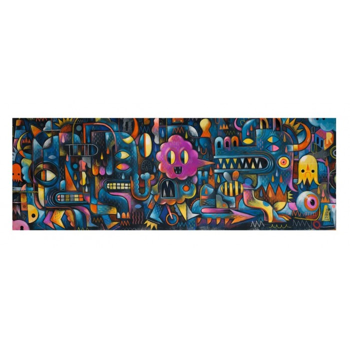 Puzzles Gallery - Monster Wall