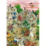 Puzzle  Heye-29121 Crisp: Pisa in Motion