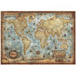 Puzzle  Heye-29275 The World, Weltkarte