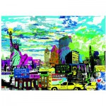 Puzzle  Heye-29681 Kitty McCall: I Love New York!