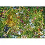 Puzzle  Heye-29892 Ryba Michael - Deep Jungle