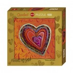 Puzzle  Heye-70858-29762 Stefanie Steinmayer - Hearts of Gold - Layers