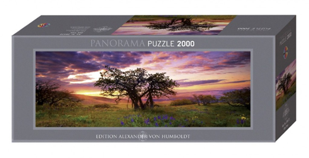 puzzle 2000 teile panorama alexander von humboldt die eiche 2000 teile heye puzzle online. Black Bedroom Furniture Sets. Home Design Ideas