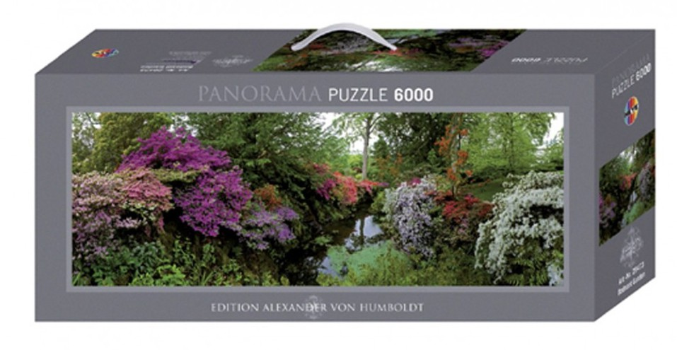 puzzle 6000 teile panorama alexander von humboldt. Black Bedroom Furniture Sets. Home Design Ideas