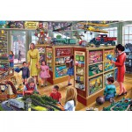 Puzzle  Gibsons-G2707 XXL Teile - Steve Crisp: The Toy Shop