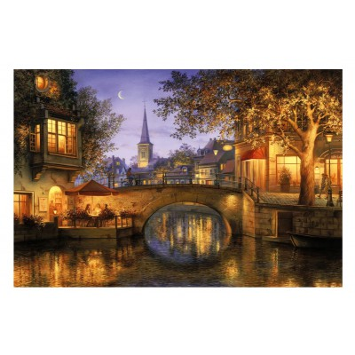 Puzzle Gibsons-G3079 Evgeny Lushpin: Twilight Reflections