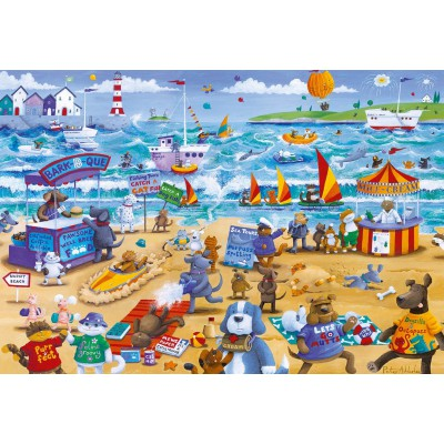 Puzzle Gibsons-G3087 Beach Buddies
