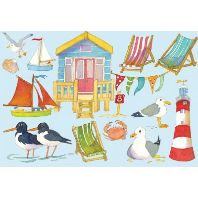 Puzzle Gibsons-G3403 Emma Ball - Seaside