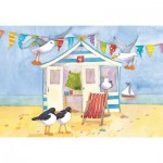 Puzzle  Gibsons-G3404 Emma Ball - Beach Hut