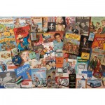 Puzzle  Gibsons-G3411 Robert Opie - Spirit of The 50's