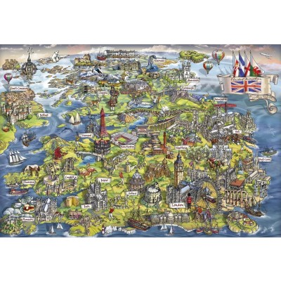 Puzzle Gibsons-G3430 Beautiful Britain