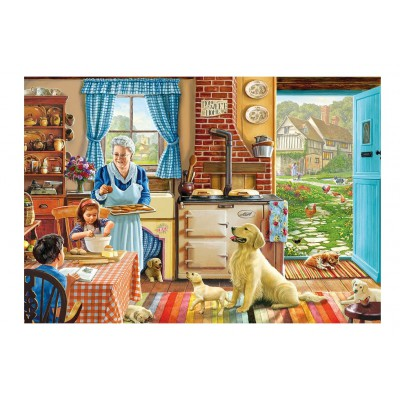 Puzzle Gibsons-G3511 XXL Teile - Steve Crisp: Home Sweet Home
