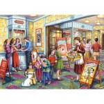 Puzzle  Gibsons-G3516 XXL Teile - Tony Ryan: The Flicks