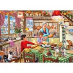 Puzzle  Gibsons-G3532 XXL Teile - Christmas Treats