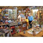Puzzle  Gibsons-G3533 XXL Teile - Grandad's Workshop