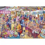 Puzzle  Gibsons-G3541 XXL Teile - Village Tombola
